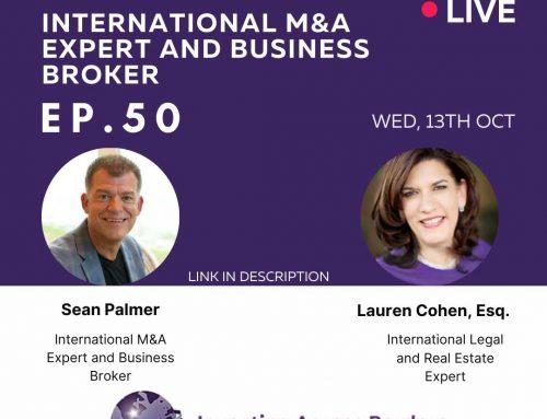 EP050: Sean Palmer: International M&A Expert and Business Broker
